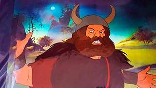 Boromir Bakshi Lord of the Rings Animation Cel