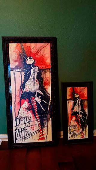 Dolls in the Attic Gris Grimly Original Art