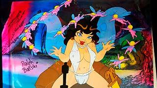 Elinore Bakshi Wizards Animation Cel