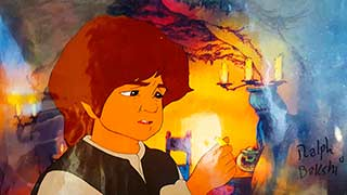 Frodo Bakshi Lord of the Rings Animation Cel