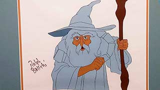 Gandalf the White Bakshi Lord of the Rings Animation Cel