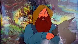 Gimli Bakshi Lord of the Rings Animation Cel