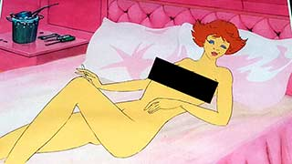 Gloria02 Heavy Metal Animation Cel
