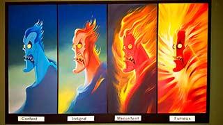Hades Disney Hercules Painting