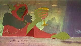 Horned King Disney The Black Cauldron Animation Cel