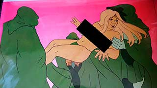 Katherine02 Heavy Metal Animation Cel
