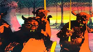 Orcs Bakshi Lord of the Rings Animation Cel