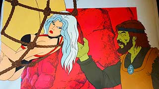 Taarna in the Pit01 Heavy Metal Animation Cel