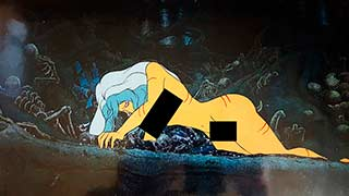 Taarna in the Pit04 Heavy Metal Animation Cel