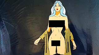 Taarna Dressing01 Heavy Metal Animation Cel