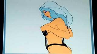 Taarna Dressing06 Heavy Metal Animation Cel