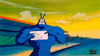 The Tick Animation Cel