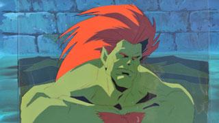 Blanka Street Fighter Saturday Morning Cartoons Animation Cels Online