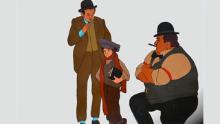 Young Zalmie Belinsky Bakshi American Pop Animation Cels Online